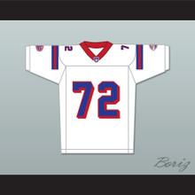 Faizon Love Jamal Jackson 72 Washington Sentinels Away Football Jersey The Replacements Includes League Patch