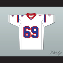 Junger 69 Washington Sentinels Away Football Jersey The Replacements Includes League Patch