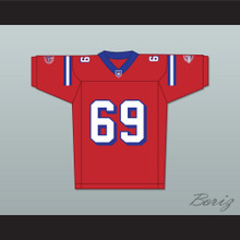 Junger 69 Washington Sentinels Home Football Jersey The Replacements Includes League Patch 2