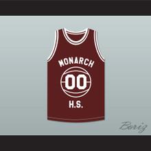 Duane Martin Kyle Lee Watson 00 Monarch High School Practice Basketball Jersey Above The Rim