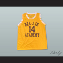 The Fresh Prince of Bel-Air Will Smith Bel-Air Academy Home Basketball Jersey