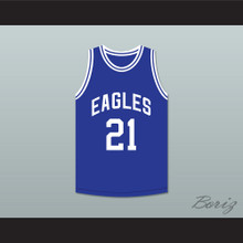 Tauheed Epps 2 Chainz 21 North Clayton High School Eagles Basketball Jersey