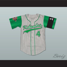 Clarence 4 Kekambas Baseball Jersey Includes ARCHA Patch and G-Baby Memorial Sleeve