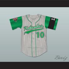 Jamal 10 Kekambas Baseball Jersey Hardball Includes ARCHA Patch and G-Baby Memorial Sleeve