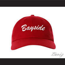 Bayside Tigers Red Baseball Hat Saved By The Bell