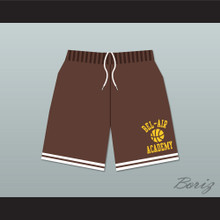 Bel-Air Academy Brown Basketball Shorts