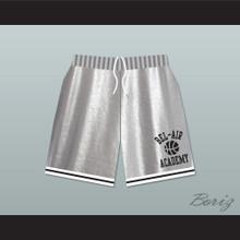 Bel-Air Academy Silver Basketball Shorts