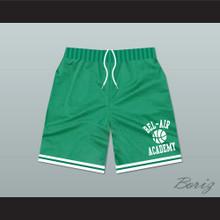 Bel-Air Academy Green Basketball Shorts
