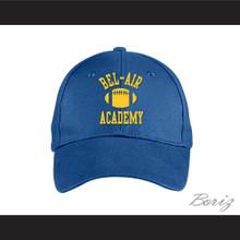 Bel-Air Academy Football Blue Baseball Hat The Fresh Prince of Bel-Air