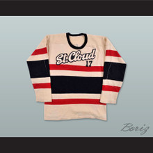 1960's St. Cloud State Huskies Hockey Jersey