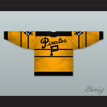 1925-28 Pittsburgh Hockey Jersey with Patches