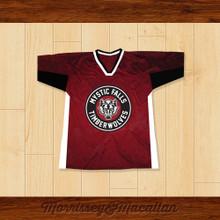 Stefan Salvatore 17 Mystic Falls Timberwolves Football Jersey by Morrissey&Macallan