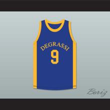 Jimmy Brooks 9 Degrassi Community School Panthers Basketball Jersey