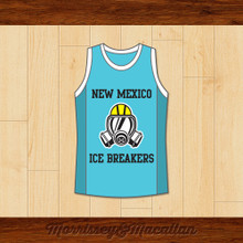 Walter White Heisenberg New Mexico Ice Breakers Basketball Jersey by Morrissey&Macallan