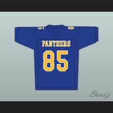 AJ Saudin Connor DeLaurier 85 Degrassi Community School Panthers Football Jersey