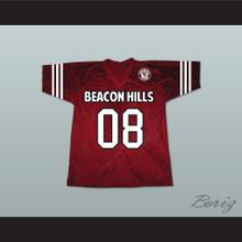 Matt Daehler 08 Beacon Hills Cyclones Lacrosse Jersey Teen Wolf Includes Patch