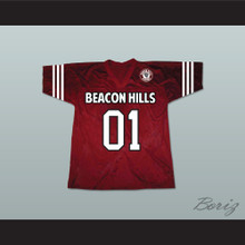 Peter Hale 01 Beacon Hills Cyclones Lacrosse Jersey Teen Wolf Includes Patch