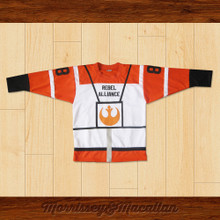 Skywalker Rebel Alliance Hockey Jersey by Morrissey&Macallan