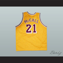 Omar Epps Quincy McCall 22 Pro Career Basketball Jersey Love and Basketball
