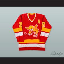 1976-77 WHA Minnesota Fighting Saints Bill Butters 2 Hockey Jersey