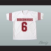 Danny Mahealani 06 Beacon Hills Cyclones White Lacrosse Jersey Teen Wolf