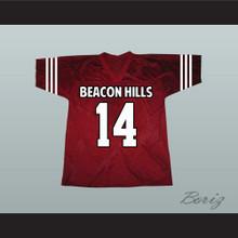 Isaac Lahey 14 Beacon Hills Cyclones Maroon Lacrosse Jersey Teen Wolf
