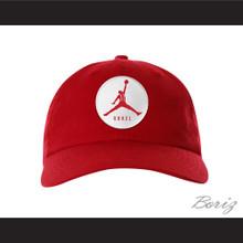 Steve Urkel Jumpman Spoof Logo Red Baseball Hat Family Matters