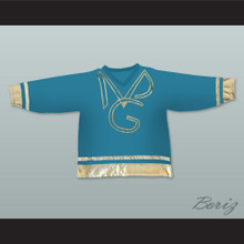 Prince and The New Power Generation Teal Hockey Jersey