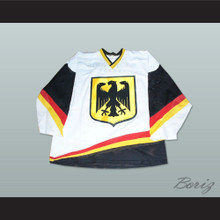 Germany National Team White Hockey Jersey Any Player or Number