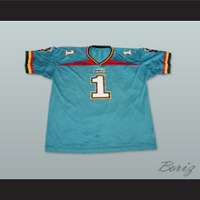Memphis Maniax Football Jersey Includes Embroidered Patches