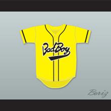 Biggie Smalls 10 Bad Boy Yellow Baseball Jersey
