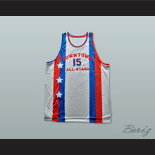 1976 Downtown All Stars 15 Basketball Jersey