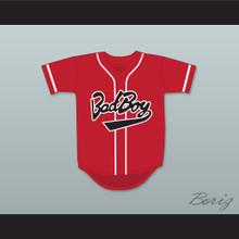 Biggie Smalls 10 Bad Boy Red Baseball Jersey