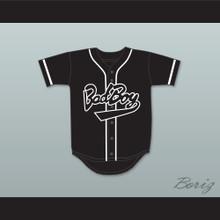 Biggie Smalls 10 Bad Boy Black Baseball Jersey
