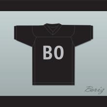 Bo Jackson 34 BO Black Football Jersey Sesame Street
