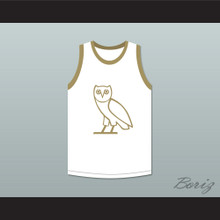 Drake 9 OVO White Basketball Jersey