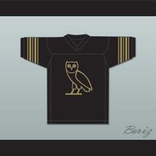 Drake 9 OVO Black Football Jersey
