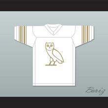 Drake 9 OVO White Football Jersey
