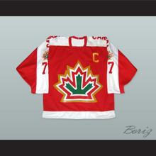 1977 Phil Esposito 77 Canada Hockey Jersey