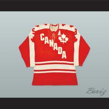 1974 Summit Series Gordie Howe 9 Canada Hockey Jersey