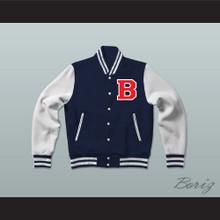 Drake Teen Wolf SNL Varsity Letterman Jacket-Style Sweatshirt