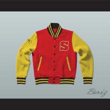 Clark Kent Smallville Crows High School Varsity Letterman Jacket-Style Sweatshirt