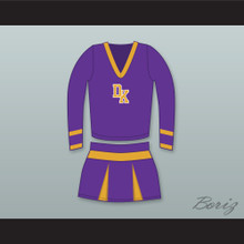 Jennifer Check Devil's Kettle High School Long Sleeve Purple Cheerleader Uniform Jennifer's Body