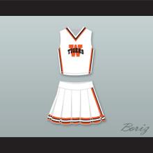 Jennifer Lawrence Norah White Plains Tigers High School Cheerleader Uniform The Beaver