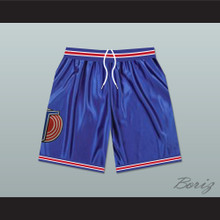 Michael Jordan Space Jam Tune Squad Basketball Shorts Blue