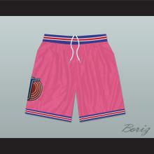Michael Jordan Space Jam Tune Squad Basketball Shorts Pink