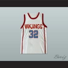 Magic Johnson 32 Lansing Everett High School Vikings Basketball Jersey Any Player