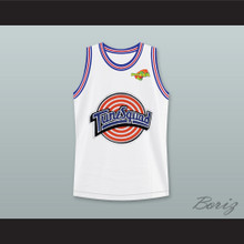 Daffy Duck 2 Tune Squad Basketball Jersey with Space Jam Patch