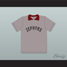 Coach Mr. Burns 28 Springfield Nuclear Power Plant Softball Team Zephyrs Gray Baseball Jersey