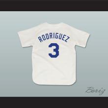 Benny 'The Jet' Rodriguez 3 Pro Career Baseball Jersey The Sandlot